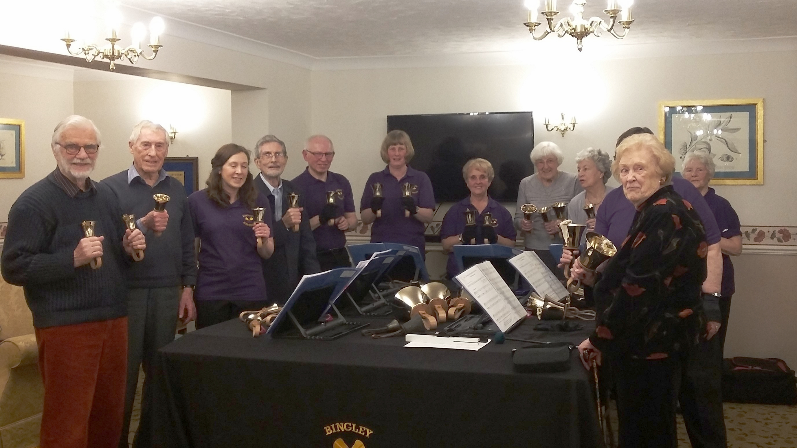 Ringing at Aire Valley Court Bingley