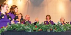 Ringing carols for U3A in Clitheroe