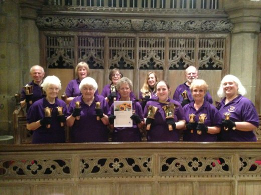 With our Grassroots award certificate